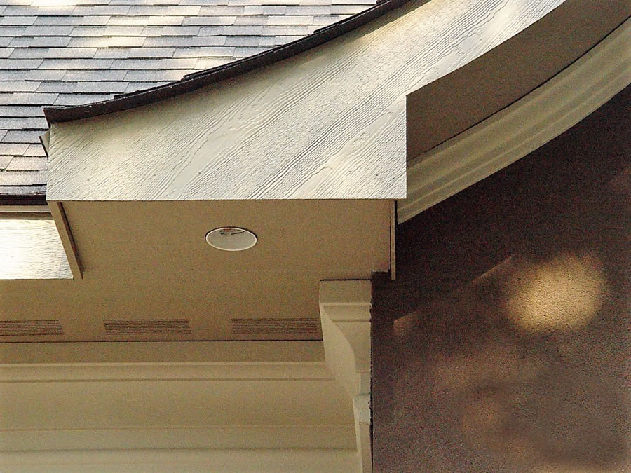 Soffit is comparable to vertical siding, and its installation entails more than the actual panels.